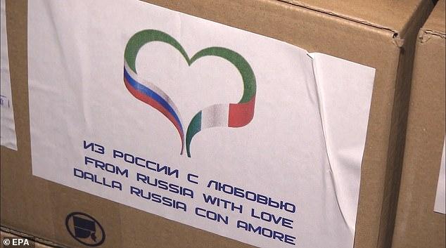شاهد الأمريكيين يتجرعون المحبة الروسية بمساعدات طبية، من روسيا مع الحب!   أريبيان بزنس