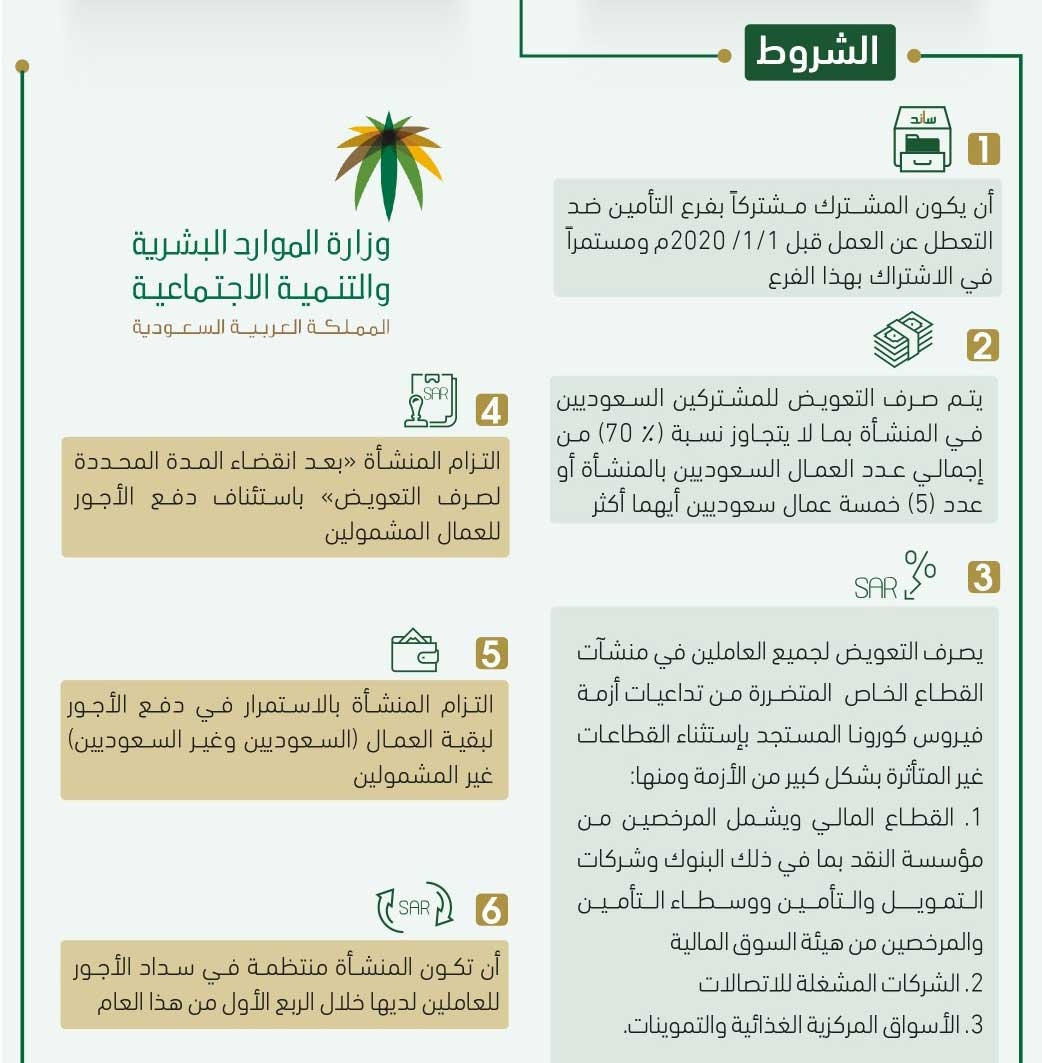 6 شروط لدعم العاملين السعوديين بالقطاع الخاص   أريبيان بزنس