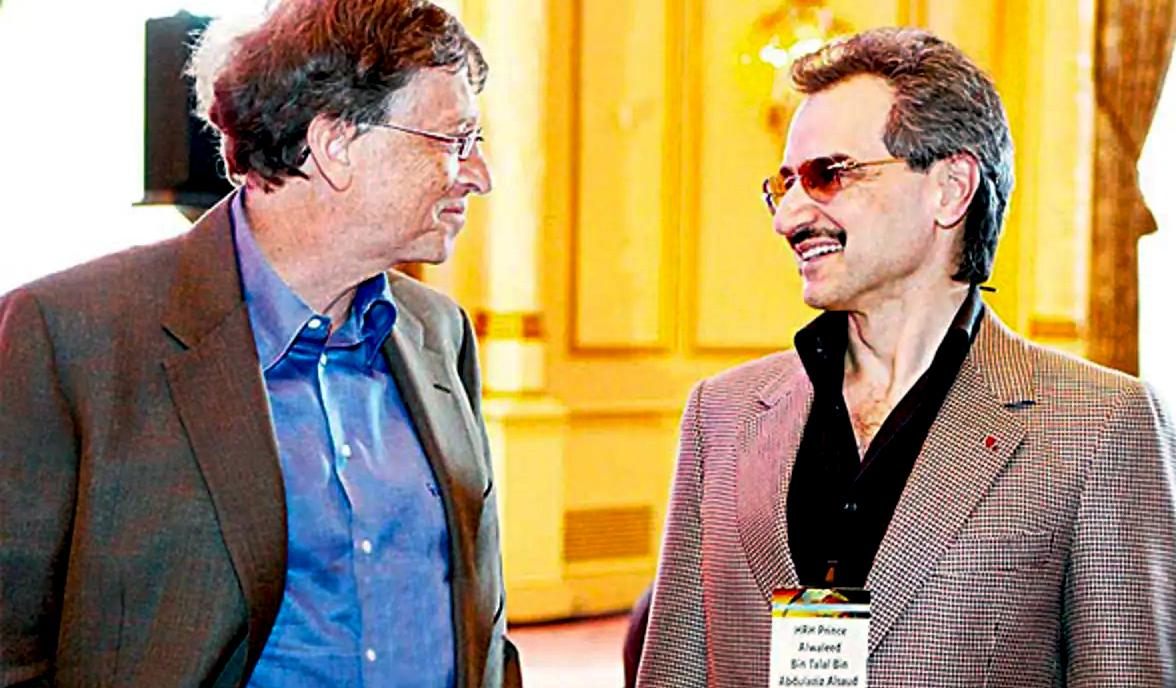 لقاء 2.2 مليار دولار شركة الأمير الوليد بن طلال تبيع حصصا في فور سيزن لشركة بيل  غيتس - أريبيان بزنس