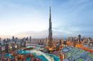 شاهد لقطات مذهلة للهبوط من برج خليفة