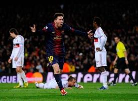 بالصور : 4 أهداف لبرشلونة تخرج ميلان من دوري أبطال أوروبا