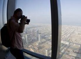 بالفيديو: جولة في منصة المراقبة في برج خليفة