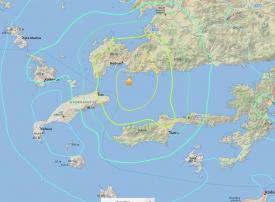 مقتل شخصين في جزيرة كوس اليونانية جراء زلزال وموجة تسونامي