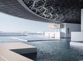 الإعلان عن موعد افتتاح معرض اللوفر أبو ظبي