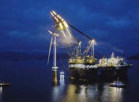 مصدر أبوظبي تفتتح أول محطة عائمة لطاقة الرياح البحرية في اسكتلندا