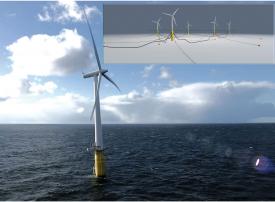 شاهد أول محطة عائمة لطاقة الرياح البحرية على نطاق تجاري في العالم