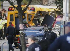 8 قتلى و11 مصابًا في هجوم قرب مركز التجارة العالمي في نيويورك