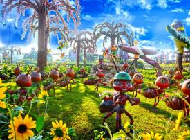 دبي ميراكل جاردن تفتتح الموسم السادس بـــ 50 مليون زهرة وتصميمات ثلاثية الأبعاد