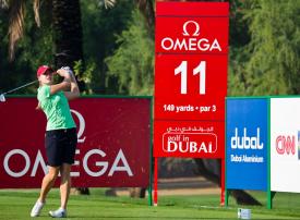 أوميجا دبي ليدز كلاسيك للجولف تنطلق غدا بدبي بمشاركة 180 لاعبة