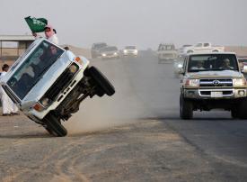 مصادرة سيارة سعودي فحّط للمرة الثالثة