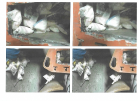 عصابة تحاول تهريب المخدرات لدبي في آلة حفر على متن باخرة