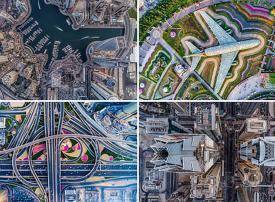 صور جوية مذهلة تظهر دبي بكل مجدها