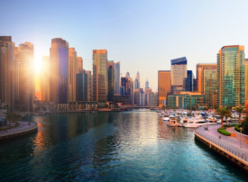 أراضي دبي تسجل 150 مشروعا بقيمة 82 مليار درهم في 2017