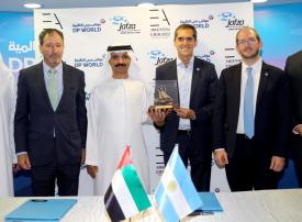 منصة الأعمال الإماراتية الأرجنتينية تفتتح مقرها في المنطقة الحرة جافزا