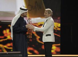 الجسمي الفنان الأكثر شعبية في حفل جوائز Bravo Awards العالمية بروسيا