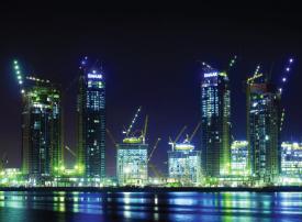 6 أبراج سكنية جديدة على جزيرة خور دبي