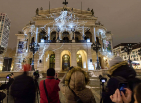 عرض الأضواء في فرانكفورت