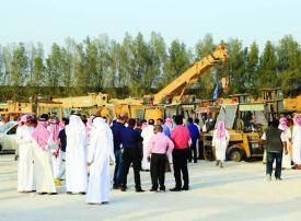 حضور مميز لأخر أيام المزاد الأول على أملاك معن الصانع وشركة سعد