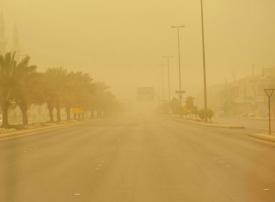 الأرصاد: استمرار العواصف الرملية في الرياض