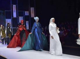 """أزياء """"إسلامية"""" بحلة إندونيسية"""