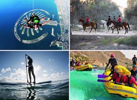 بالصور: شاهد متعة هذه الأنشطة الرياضية في دبي قبل قدوم الصيف