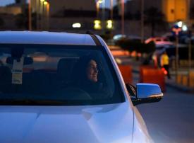 سعوديات يجربن القيادة قبيل السماح لهن رسميا باستخدام السيارات
