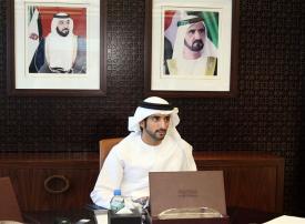 حمدان بن محمد يعتمد الهيكل التنظيمي لدائرة الأراضي والأملاك بدبي
