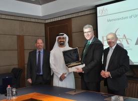 سلطة دبي للخدمات المالية توقع مذكرة تفاهم مع هيئة أستانا للخدمات المالية