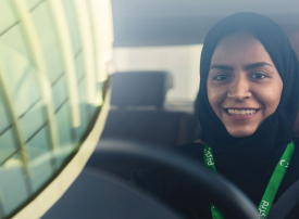 كابتنات كريم تباشرن العمل في السعودية