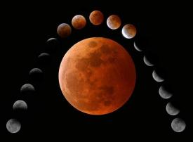 أطول خسوف كلي للقمر بالإمارات الشهر المقبل