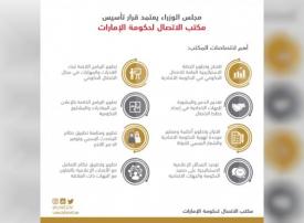 مجلس الوزراء يعتمد تأسيس مكتب الاتصال لحكومة الإمارات