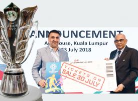 طرح تذاكر كأس آسيا «الإمارات 2019» 30 يوليو