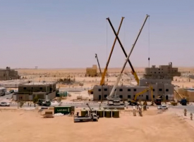 فيديو: شركة عقارية أمريكية تدخل السعودية وتبني فللاً سكنية في 20 يوماً