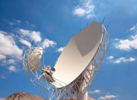 بالصور: جنوب إفريقيا تبني أحد أكبر التلسكوبات في العالم