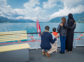 زيادة  لأعداد السياح المسافرين من الإمارات إلى سويسرا