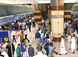 خطة لتأمين انسيابية الحركة المرورية في دبي أثناء العيد