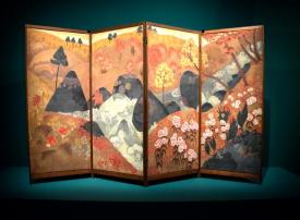 متحف اللوفر أبوظبي يفتتح معرض من وحي اليابان رواد الفن الحديث