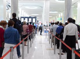 إقامة دبي تنجز إجراءات 3 ملايين و821 ألف مسافر خلال أغسطس