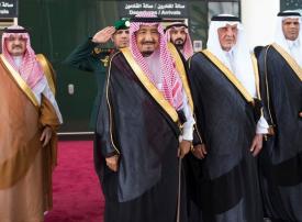بالصور : الملك سلمان يدشن قطار الحرمين السريع