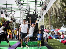 «تحدي دبي للياقة 2018» ينطلق بالفعاليات ودروس اللياقة حتى 24 نوفمبر