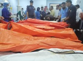 مقتل 18 شخصا أغلبهم أطفال والبحث مستمر عن مفقودين في كارثة سيول البحر الميت