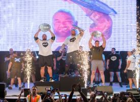 دبي الرياضي يتوج بطل «صراع العروش» بلقب أقوى رجل في العالم