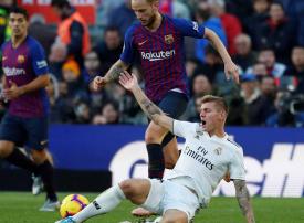 بالصور :مباراة الكلاسيكو برشلونة وريال مدريد