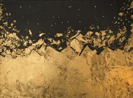 بالصور : أول معرض فني لـ رويدا حكيم