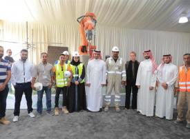 بالصور : السعودية تبني أول منزل بالطباعة ثلاثية الأبعاد في الشرق الأوسط