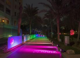 قرية نخلة جميرا تستقطب 5 آلاف مشارك يوميا ضمن «تحدي دبي للياقة»