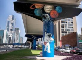 بالصور : نظرة على مشروع ميترو مورالز في دبي