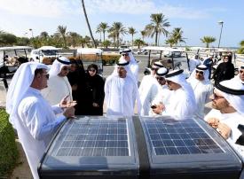 بالفيديو.. بلدية دبي تنتهي من تطوير حديقة الممزر الذكية
