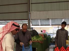 سعودة أسواق الفواكه والخضار بمكة