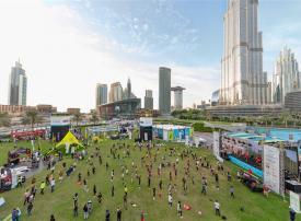 بأكثر من مليون شخص.. تحدي دبي للياقة 2018 يختتم فعالياته بنجاح مبهر